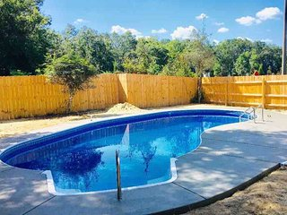 4 BR home with private pool, garage playroom and