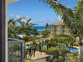 OCEAN & POOL VIEW C402 Top floor **AC** Resort Pool & Restaurant