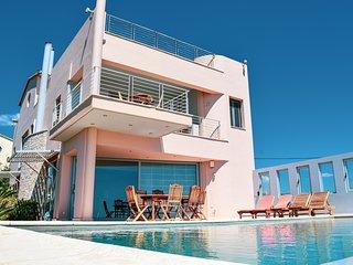 Diamond sea view Villa near Athens airport