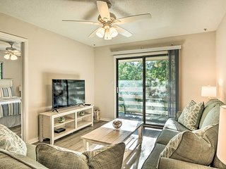 Updated Condo w/Pool: 500 Yds to Folly Field Beach