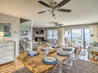 NEW! Waterfront Home w/ Decks, Privacy & Boat Slip