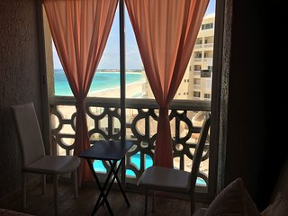Beachview Studio with French Balcony in Cancun