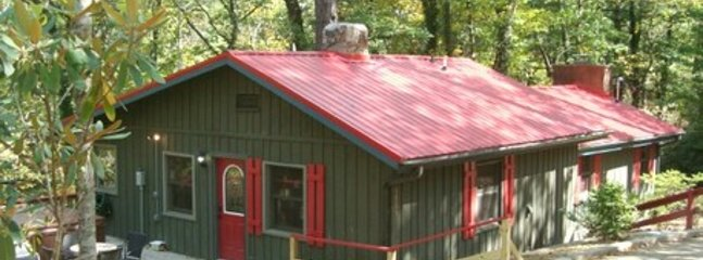 RED CREEK CABIN:  Bask in the warmth of historic charm and character in a lush, peaceful setting