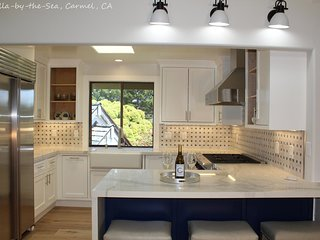Beautifully Remodeled Home Two Blocks from Carmel's Beach With Bonus Room