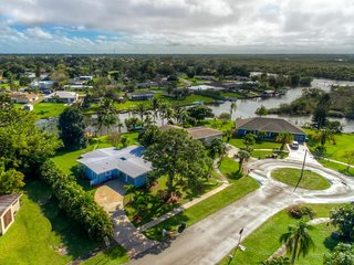Beautiful Port St Lucie river front home with private dock ocean access