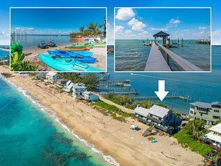 'Restoration Sands': 9BR/6BA FL Beach House DIRECTLY on Beach (+Elevator & More)