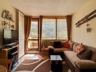 Studio cabine 4 personnes avec parking couvert, résidence Le Montana