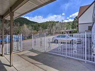 NEW! Mtn Condo w/ Fireplace ~3 Mi to Mt Rushmore!