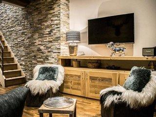Magnifique duplex 3 chambres SKIS AUX PIEDS TIGNES 6-8 Pers front de neige