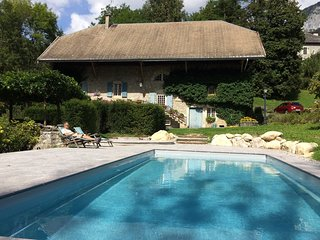 Le Moulin de Dingy - House with 7 bedrooms & swimmingpool 20 mn from Annecy