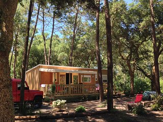 Lovely Cabin, Sleeps 8 people, Beautiful Swimming Pool, Walk to Atlantic Beach!