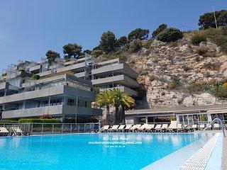 Residence Costa Plana Appartement 6 personnes,balcon,vue mer,parking,piscine