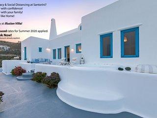 illusion Villa - Exceptional Private Villa with Outdoor Jacuzzi