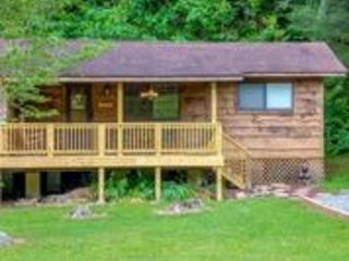 Cozy Mountain View Cabin Walking Distance to Lake in Gated Community