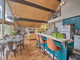 Lake Arrowhead A-Frame House w/ Private Hot Tub!