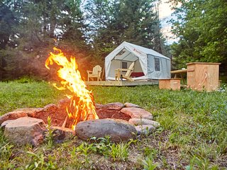 Tentrr Signature Site - Sugarloaf Mountain Meadows Camp on Schoharie Creek NY