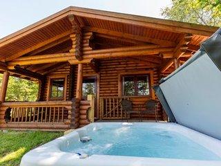 Chestnut - Luxury Log cabin, hot tub, dog-friendly