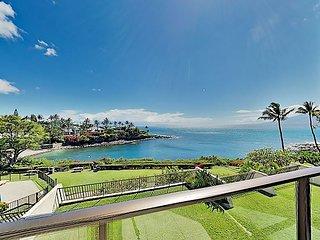Honokeana Bay Retreat w/ Pool & Ocean-View Balcony - Steps to Beach!
