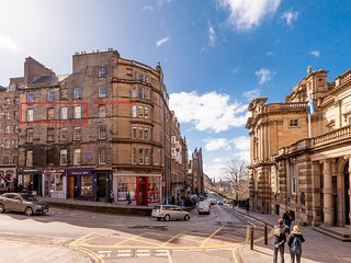 Bank Street, Just off Royal Mile, 200 metres from Edinburgh Castle