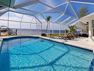 Coral Riverfront Villa