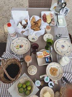 La nostra prima colazione