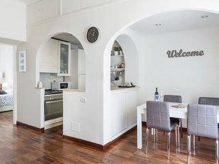 Area living: cucina e sala da pranzo