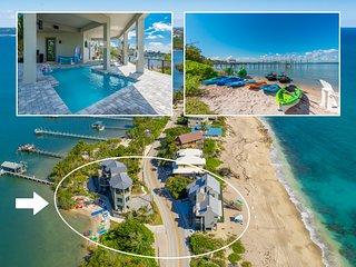 'Yin and Yang': 2-SideBySide Ocean-2-River Beach Houses: Hot Tubs, Sauna & More