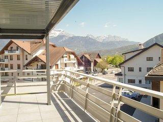 Le Saint-Jore - Appartement 2 chambres, balcon & parking a 3 minutes du Lac