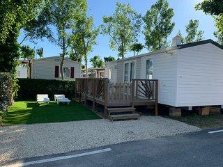 Mobil-home tout confort sur camping 4 etoiles Valras-Plage