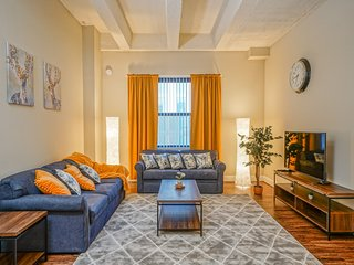 The Jefferson, 6 min to Center City,Spacious , Parking & Gym