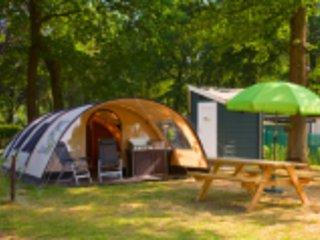 4 persoons Wiescamp tent met privesanitair