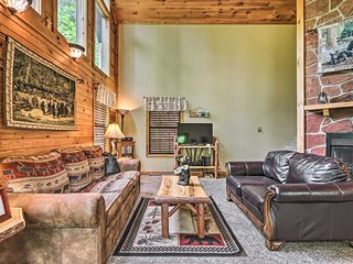 NEW! Shagbark Resort Cabin w/ Forest Valley Views!