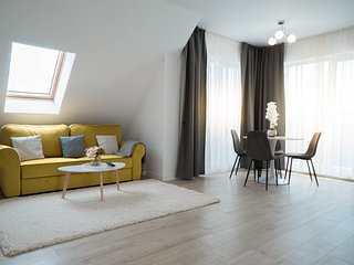 Modern Cozy Attic in a Private Complex / Cluj-Napoca central area