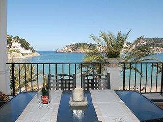 Bonito apartamento con terraza en la playa del Puerto. Desinfección profesional