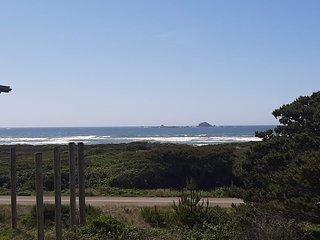 NEW LISTING! Coastal cottage w/ stunning views & large deck - dogs OK!