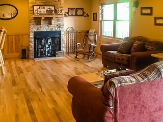 NEW LISTING! Dog-friendly getaway w/ a full kitchen, game room, & multiple decks