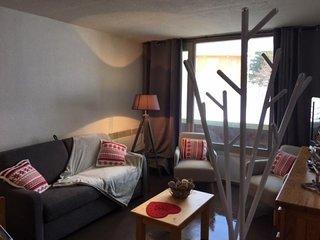 Appartement deux pièces cabine 6/7 personnes, résidence Mongie Hebdo