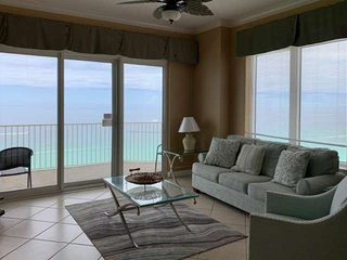 New Listing, 3BR Corner Condo with Master Bedroom on the Gulf, Private Balcony