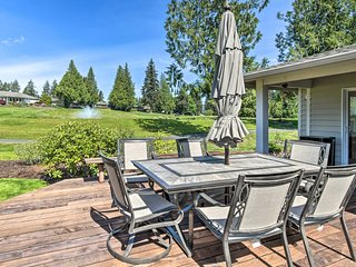 NEW! Blooming Family Home on Kitsap Golf Course!