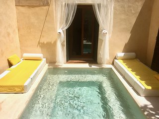 Traditional Villa with very private plunge pool and AC