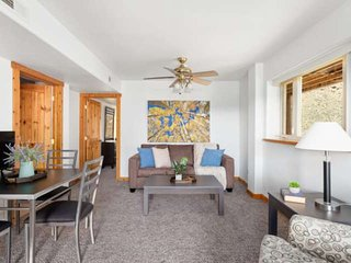 Mountaintop condo | 20 mins to downtown Miner Street | walk to trailhead 'St Mar