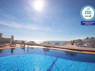 WONDERFUL APARTMENT 200M FROM BEACH, WI-FI, AC,SWIMMING POOL