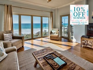 BEACH FRONT *Resort! Pool/Hotub/Spa, FREE Perks, $100 LiveWellCredit & MORE!!
