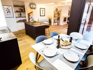 Modern Apartment 5p, 300m Lake Annecy