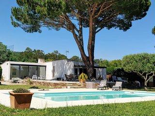 Villa Artemis Saint-Tropez Golfe - 8 Couchages - 3 sdb - Vue Mer (200m)