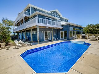 Topsail | 300 ft from the beach | Private Outdoor Pool, Indoor Pool