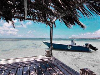 Villa K'lia: vue mer avec ponton