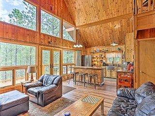 Central Black Hills Cabin w/Loft & Wraparound Deck