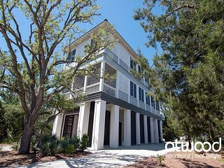 Beach Lovers Paradise - Private Beach Access,Dual Masters,3 Screened Porches