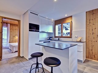 Charmant appartement entierement equipe a Champery